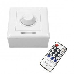 GloboStar® 73371 Ασύρματο LED Dimmer Τοίχου 220v (350w) με Κυτίο