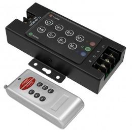 GloboStar® 73405 Ασύρματος LED RGB Controller με Χειριστήριο RF 12v (360w) - 24v (720w) DC