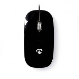 NEDIS MSWD200BK Wired Mouse 1000 DPI 3-Button Black
