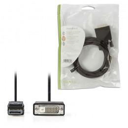NEDIS CCGP37200BK20 DisplayPort - DVI Cable DisplayPort Male - DVI-D 24+1-Pin Ma