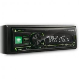 Alpine UTE-81R Ράδιο USB/AUX Με Πράσινο Φωτισμό