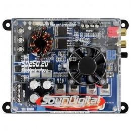 SounDigital SD-250.2D Nano ενισχυτής 2 καναλίων 300 Rms