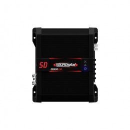 Soundigital SD2000.1D EVO Μονοκάναλος ενισχυτής με συνολική ισχύ 2672 Watt RMS στα 14,4 @ 1Ω