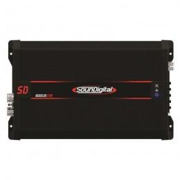 Soundigital SD8000.1D EVO Μονοκάναλος ενισχυτής με συνολική ισχύ 10448 Watt RMS στα 14,4 @ 1Ω