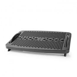 NEDIS ERGOFR100BK Feetrest ergonomic Plastic Black