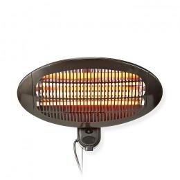 NEDIS HTPA110EBK Patio Heater Wall Mounting 650 / 1300 / 2000 W IP34