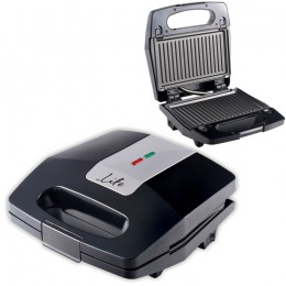 LIFE STG-200 Sandwich toaster with grill plates,700W,on/off switch