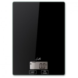 LIFE Accuracy Kitchen scale, black color