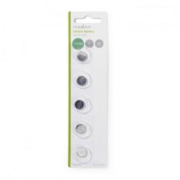 NEDIS BALCR12255BL Lithium Button Cell Battery CR1225 3 V 5 pieces Blister