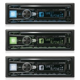 Alpine CDE-195BT Ράδιο CD Bluetooth/USB/AUX - ΔΩΡΟ USB 8GB...!!!