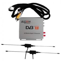 Bizzar DBT813HD Ψηφιακός Δέκτης Αυτοκινήτου MPEG4