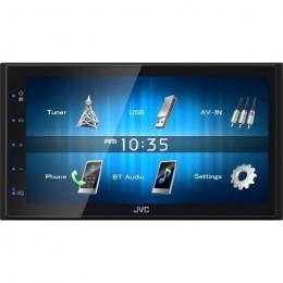 "JVC KW-M24BT ΣΥΣΚΕΥΗ MULTIMEDIA 2 DIN - 6.8"" με Bluetooth .....!!!!!"