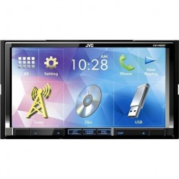 "JVC KW-V420BT 2 DIN Οθόνη Πολυμέσων 7"" Με CD/DVD/USB & Bluetooth"