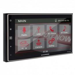 "Macrom M-DL4000 2 DIN Οθόνη Multimedia 6.8"" WVGA Με Bluetooth/USB"