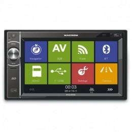 "Macrom M-DL5000 2 DIN Οθόνη Multimedia 6.2"" WVGA Με GPS/Bluetooth"
