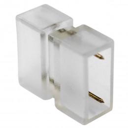 GloboStar® 70550 Σύνδεσμος I με Καρφάκια Wide Ταινίας Διπλής Σειράς LED 2 Pin