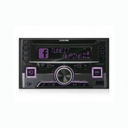 Alpine CDE-W296BT Ράδιο CD 2 Din Αυτοκινήτου με είσοδο aux - Θύρα USB Μεταβλητός Φωτισμός Πλήκτρων και Bluetooth