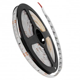 GloboStar® 70104 Ταινία LED SMD 3528 5m 4.8W/m 60LED/m 412 lm/m 120° DC 12V Αδιάβροχη IP65 Κόκκινο - 5 Χρόνια Εγγύηση