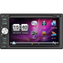 "Digital IQ-CR265GPS 2DIN Multimedia 6.2"" HD Με GPS - Bluetooth"