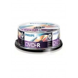 Philips DVD+R 16X 4,7GB 120 Pack 25+5