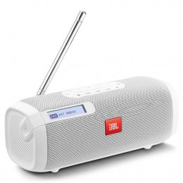 JBL Tuner Portable Bluetooth Speaker with DAB/FM radio white