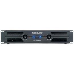 American Audio VLP-1000 Τελικός ενισχυτής 2U ισχύος 2 Χ 500 Watt
