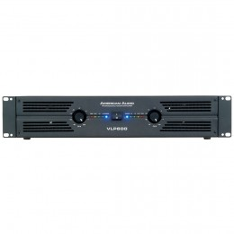 American Audio VLP-600 Τελικός ενισχυτής 2U ισχύος 2 Χ 300 Watt