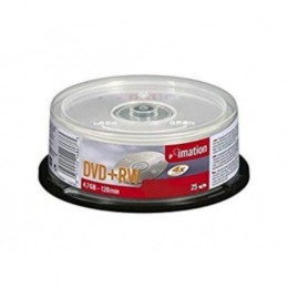 Imation DVD+RW Rewritable Disk 4x Speed 120min 4.7Gb Ref 16867 Pack of 25
