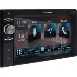 Macrom M-DL6000 Οθονη 6.2'' Radio/USB/GPS/BT