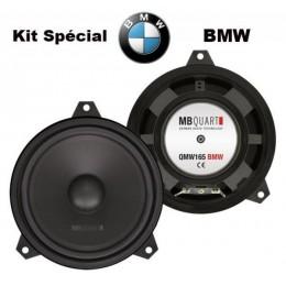 Mb Quart QMW165 BMW. Σετ Woofer 6.5'' FOR BMW E46