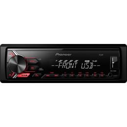 Pioneer MVH-190UB radio usb aux κόκκινος φωτισμός