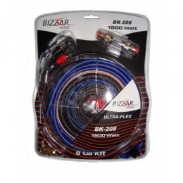 Bizzar Kit Καλωδίωσης Ενισχυτή 8Ga 1500Watt