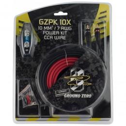 Ground Zero GZPK-10X Κιτ καλωδίωσης για σύνδεση ενισχυτή