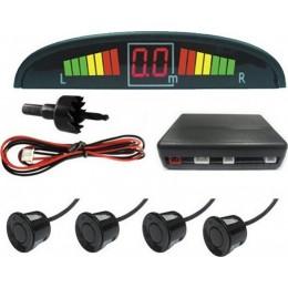 Beltec BSD04 Σετ αισθητήρες παρκαρίσματος με οπτική και ηχητική ειδοποίηση