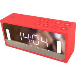 F&U PBT2126R Φορητό Ραδιόφωνο/Ξυπνητήρι & Media Player με Bluetooth