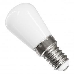 GloboStar® 76058 Λάμπα E14 S6 LED SMD 2835 3W 270lm 320° AC 230V Ψυγείου Φυσικό Λευκό 4500K