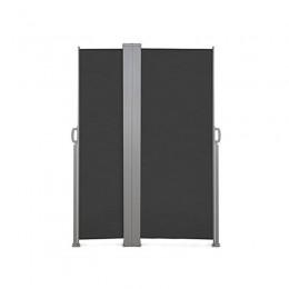 Διπλό Προστατευτικό Ρολό για τον Ήλιο και τον Αέρα 160 x 250 cm Χρώματος Ανθρακί Inkazen 40020219