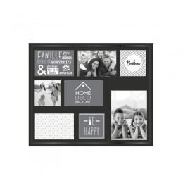 Πλαστική Κορνίζα Τοίχου 8 Θέσεων 37 x 3.5 x 47.2 cm Home Deco Factory HD2254