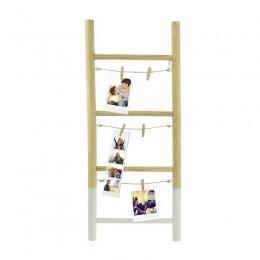 Ξύλινη Διακοσμητική Σκάλα για 6 Φωτογραφίες 25 x 2.5 x 60 cm Home Deco Factory HD2109