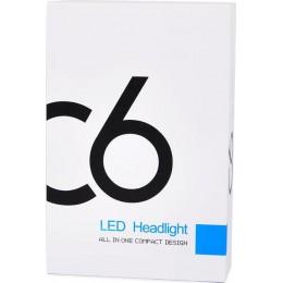h1 c6 Autoline H1 C6 Headlight Led 12V/24V 2τμχ