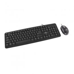 Σετ Ενσύρματο Πληκτρολόγιο και Ποντίκι Αγγλικό US USB Esperanza Salem TK106