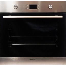 Davoline OBL 8000 Inox Φούρνος Ανω Πάγκου 60cm Εντοιχιζόμενος και Ανεξάρτητος 66lt