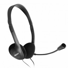 NOD PRIME HDS-005 HEADPHONES WITH MIC,BLACK