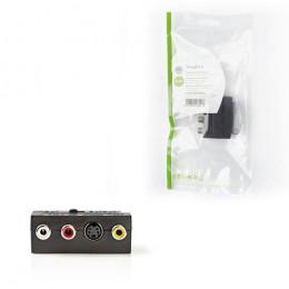 NEDIS CVGP31902BK Switchable SCART Adapter