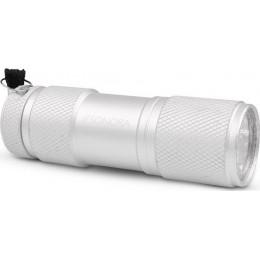 Sonora Silver Vertex Αλουμινένιος mini φακός LED 30 lm σε ασημί χρώμα