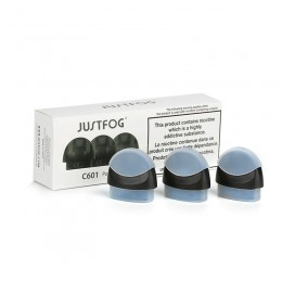 JUSTFOG C601 Cartridge 1.7ml 3τεμ
