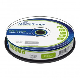 MediaRange DVD-R 120' 4.7GB 16x Cake Box x 10 (MR452)
