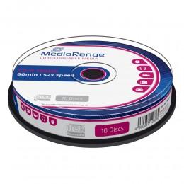 MediaRange CD-R 80' 700MB 52x Cake Box x 10 (MR214)