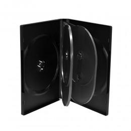 MediaRange DVD Case for 6 discs 22mm Black (MRBOX16)