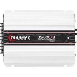 Taramps DS 800X3 Τρικάναλος Ενισχυτής 2x200W & 1x400W